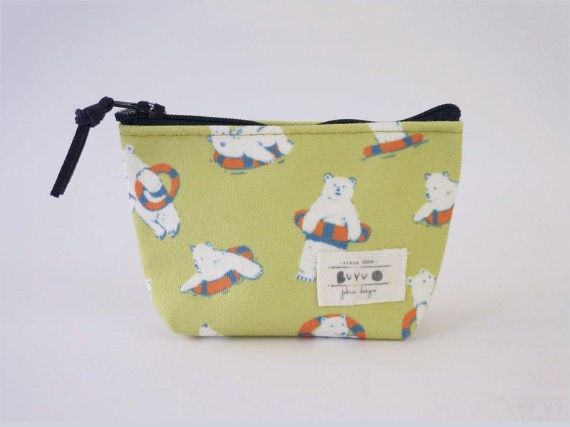 零錢包-北極熊與救生圈