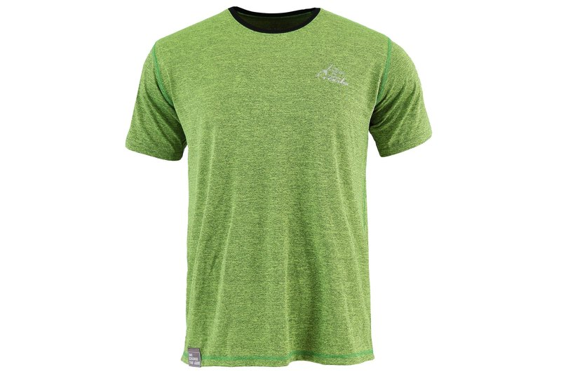 Tools NAKEDT Mixed Yarn Short Sleeve TEE :: Fluorescent Yellow:: Comfort:: Casual