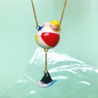 Beach Ball Necklace