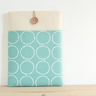 Laptop case Macbook cover PC case / mint Circle