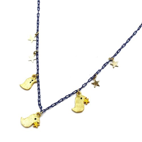 One two three / Anne Trois Necklace NE 357