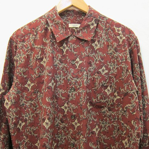 Cuori❀ flowers concentrated vintage shirt
