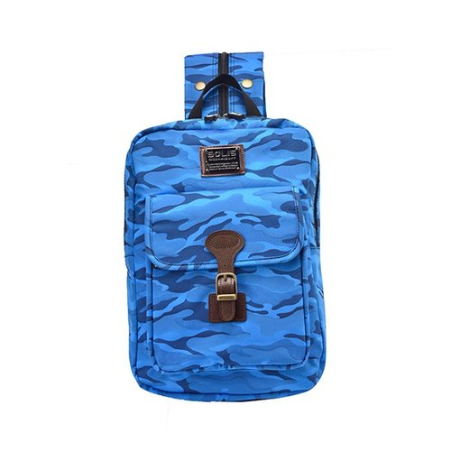 "SOLIS [ CAMO Series ] 10"" Tablet Backpack(Blue Camo)"