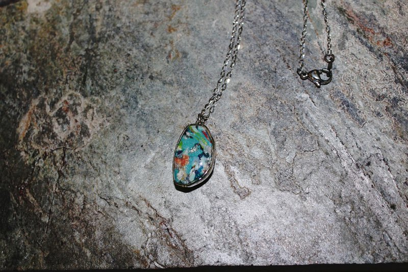 Sunset car Shen Tao stainless steel necklace