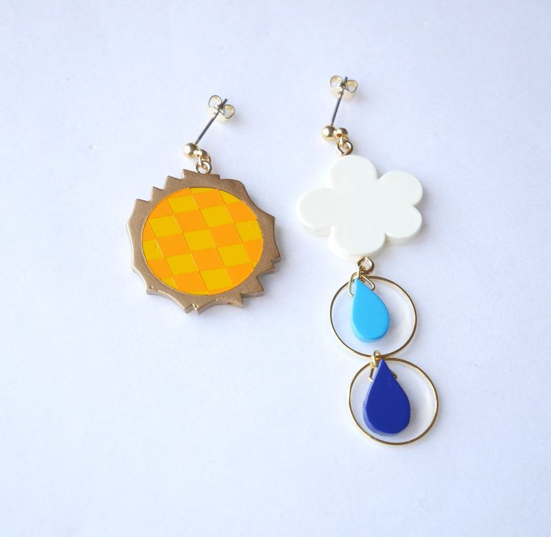 Sun shower Pierce/Earrings