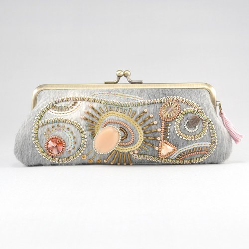 Eyeglass case / pen case sparkle 3