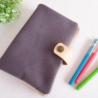 [SALE] Bible size binder notebook [classic colors] pig leather soft notebook cover [MTO] leather