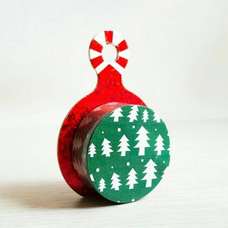 [Hoppy] Christmas paper tape X'mas-Happy tree / GTIN: 4713077971765