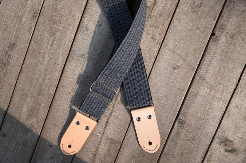 Smiling guitar strap // Majiaxiang sea // Guitar strap