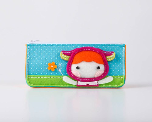Fairy Land [material package] cute animal doll pencil bag - lamb