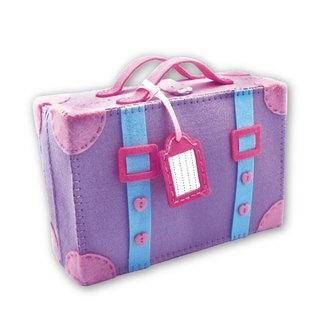 Fairy Land [material kit] go travel suitcase together - purple