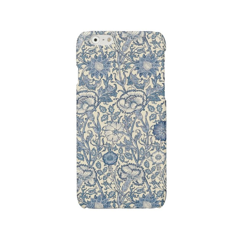 Samsung Galaxy case iPhone case Phone case blue flowers 2009