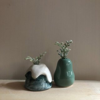 Goody Bag - Island green mini vase