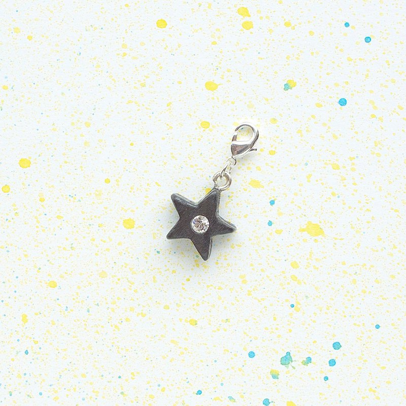 Wooden ornaments series Star ornaments gifts custom