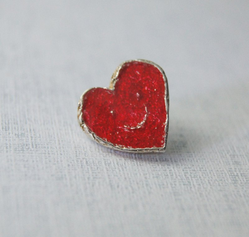 *Little Cutey * handmade silver pin
