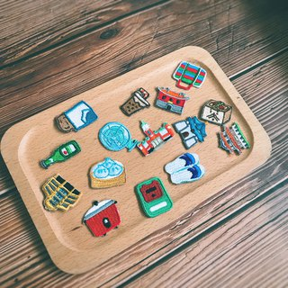 Littdlework | Small Object Embroidery Hot Embroidery 仼 Choose five pieces