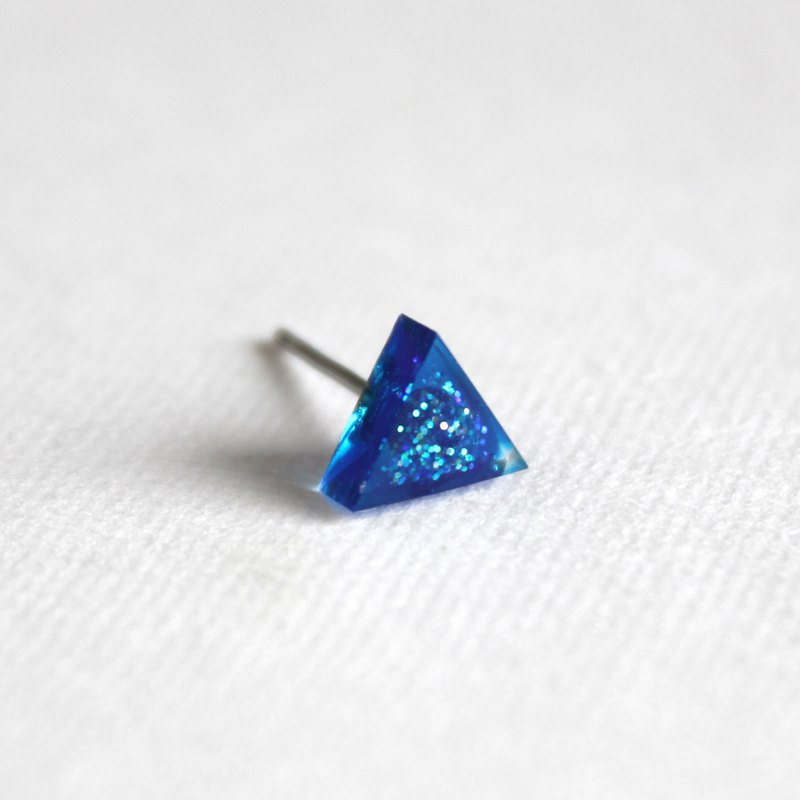 Resin Earrings / 627 / Teardrop  - Single