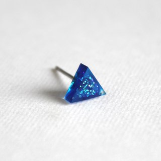 Resin Earrings / 627 / Teardrop  - Single Stud