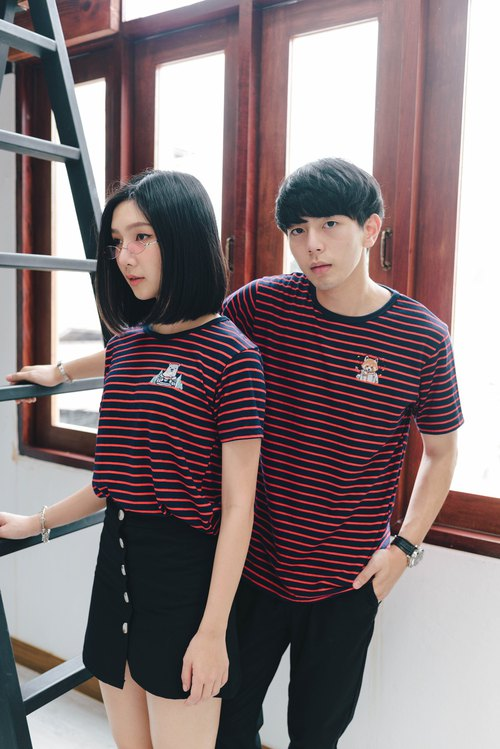 T-Shirt Red Stripe 2