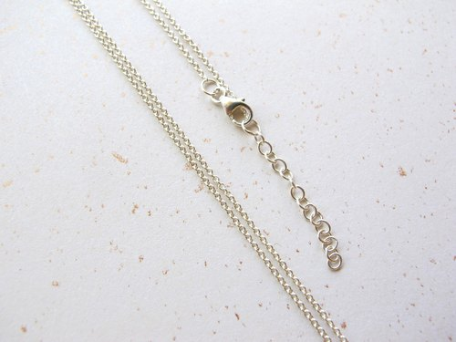 "Merchandise - 925 Silver Chain-16 ""- Very Fine (with Pendant)"