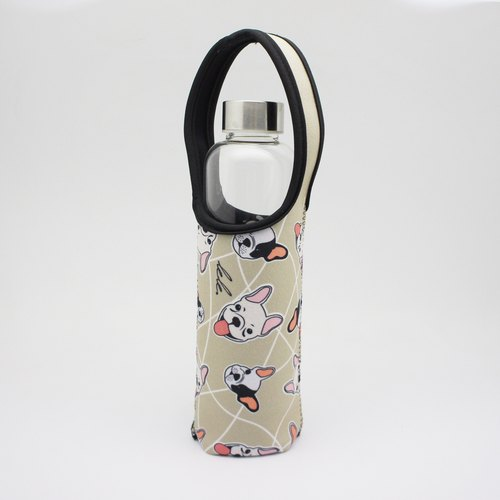 BLR Water Bottle Tote LeLe [ Bulldog ] TC02