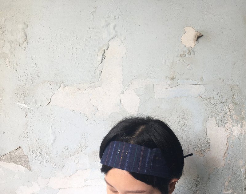 Small Gold Face Embroidery Hairband - Shanghai Gubu