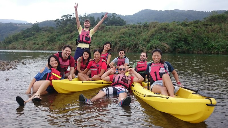 【Workshops】Fulong Shuangxi Riverside Canoe Tour