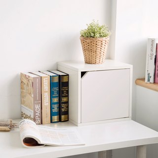 [Ange House] Qiao Cat House | Expanded Door Cabinet (Fresh White)