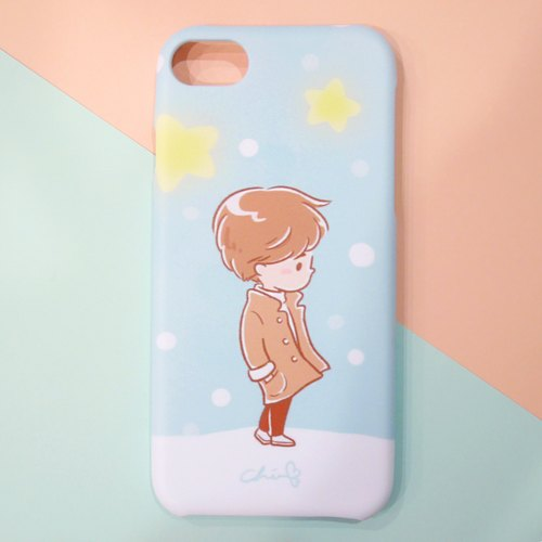 Starlight Meets Mobile Shell Boy / ChiaBB Matte Matte Shell Iphone SAMSUNG