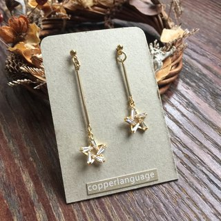 Earrings - elegant series / not on the scales