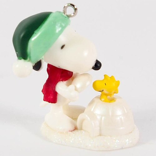 Snoopy - Limited Pendant Cover Ice House (Hallmark-Peanuts Snoopy Charm)