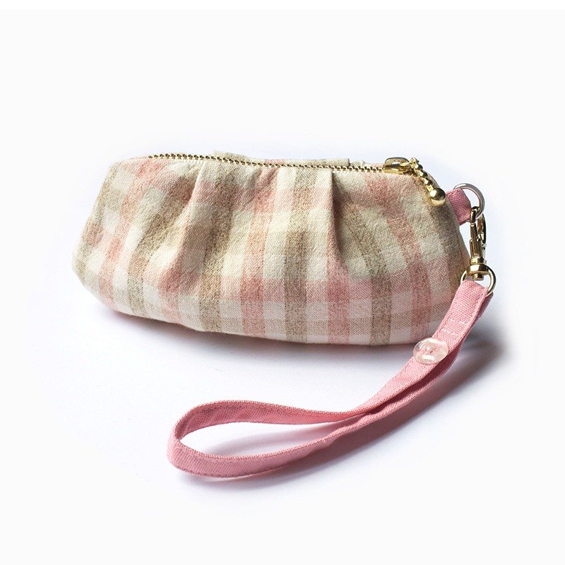 Shell Coin Purse (Strawberry Tart)