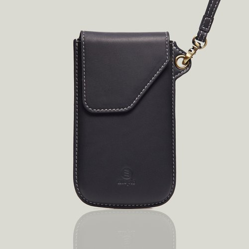 【New】 Deshler Deer - dark gray (with full black plastic back cover) ‧ iPhone X ‧ 5.8 ""