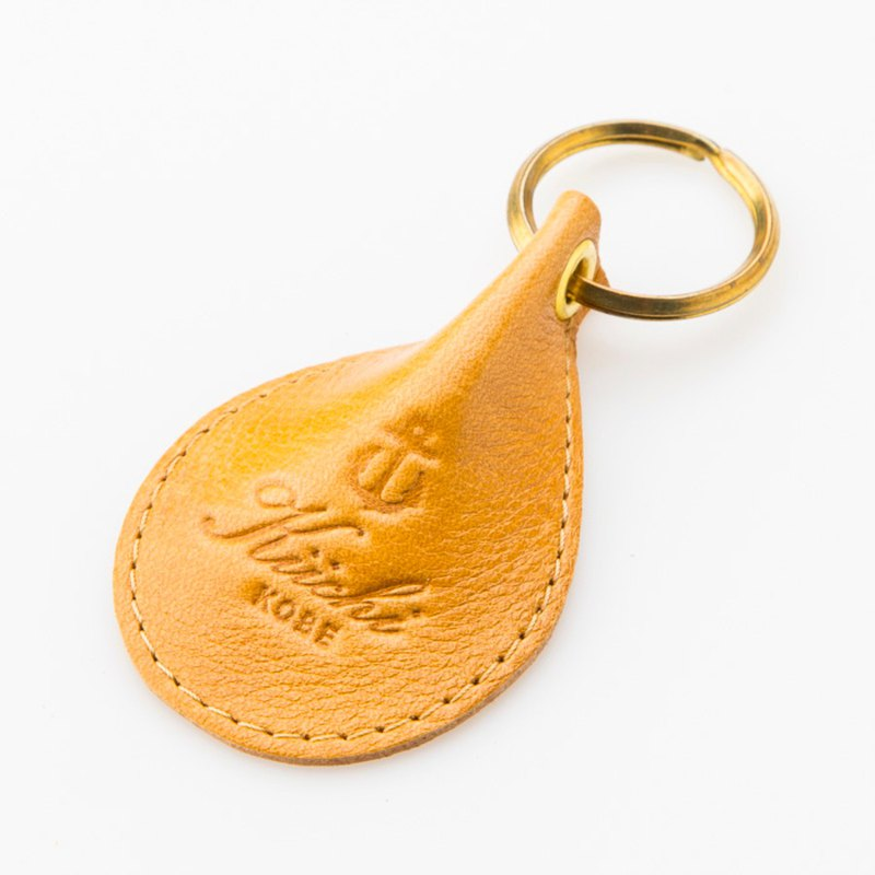 [STUDIO KIICHI] MADE IN Kobe Water Drops 匙圈 Keychain 駝 Camel Camel