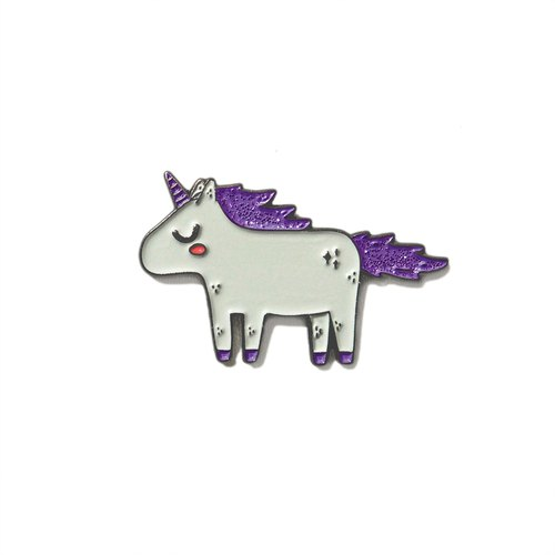 Unicorn Purple Pin