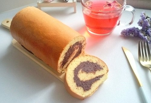 Red bean cake roll new product ing
