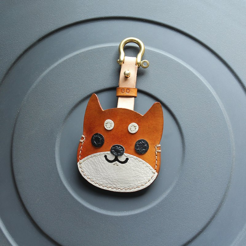 Shiba Inu Handmade Leather Key Leather Case