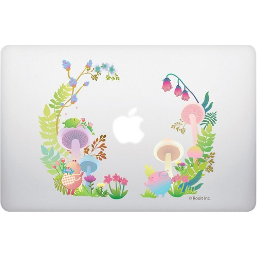 "New Series - No personality Star Roo [Wreath] ""Macbook 12-inch / Air 11-inch dedicated"" crystal shell (transparent), AC0BB02"
