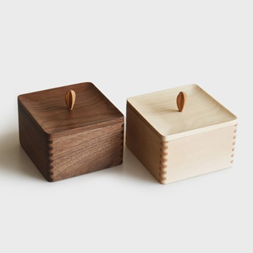 Mountain Senser small box original wooden storage box jewelry box sewing box creative gift wooden box