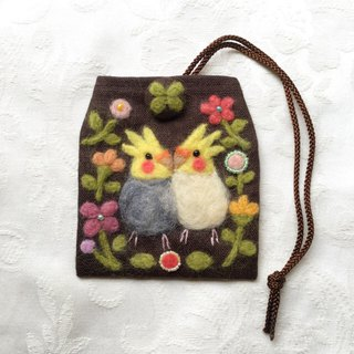 amulet bag of cockatiel
