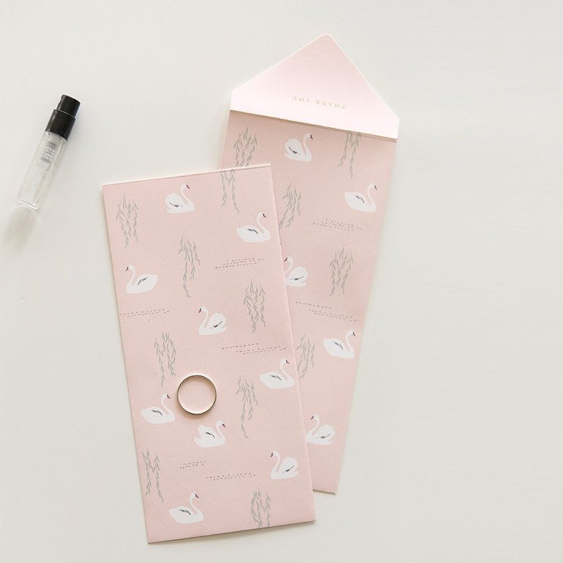 Dailylike - Envelope Gift Bag Set V2-07 Swan Lake, E2D07211