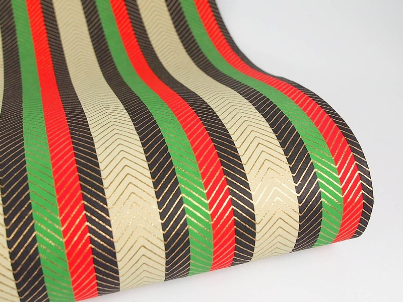 Shizen Classic Straight Stripe Hand Wrapping Paper