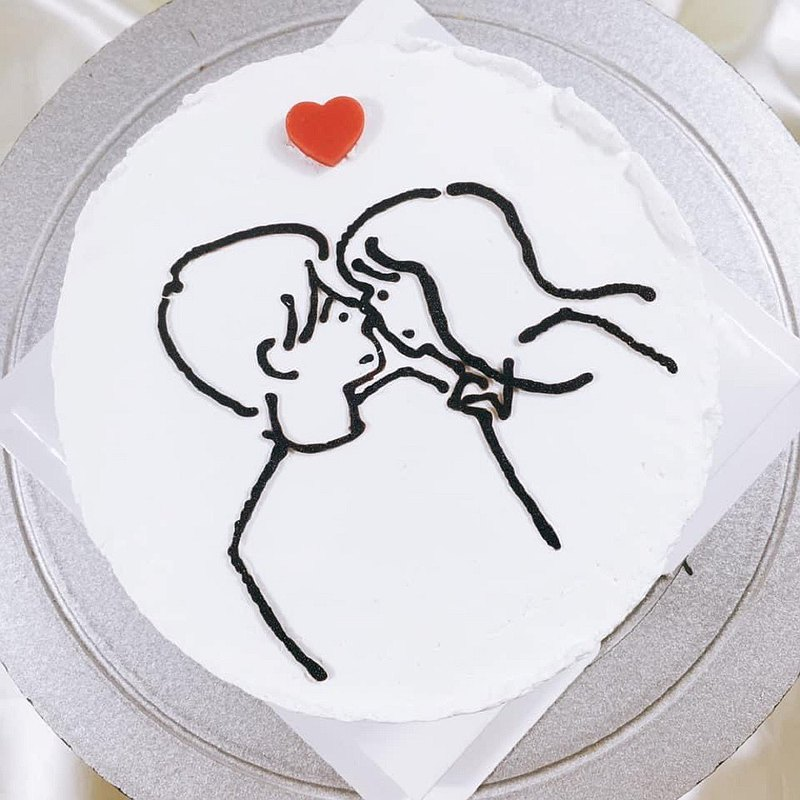 專屬於妳  生日蛋糕  客製蛋糕 情人節  4 6 8吋  限台南面交