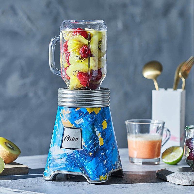 OSTER Ball Mason Jar隨鮮瓶果汁機-彩繪藍