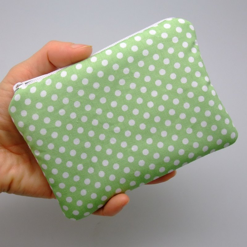 Zipper pouch / coin purse (padded) (ZS-120)