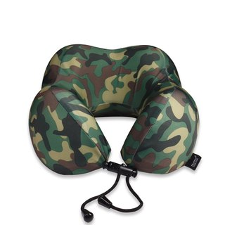 Murmur pressure neck pillow / camouflage green NP016