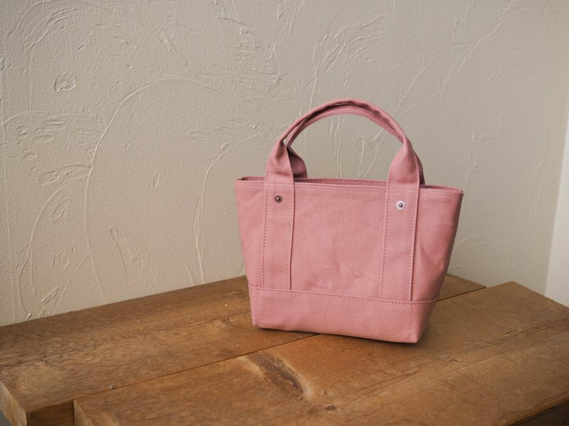 Paraffin canvas only Tote chibi size ash rose