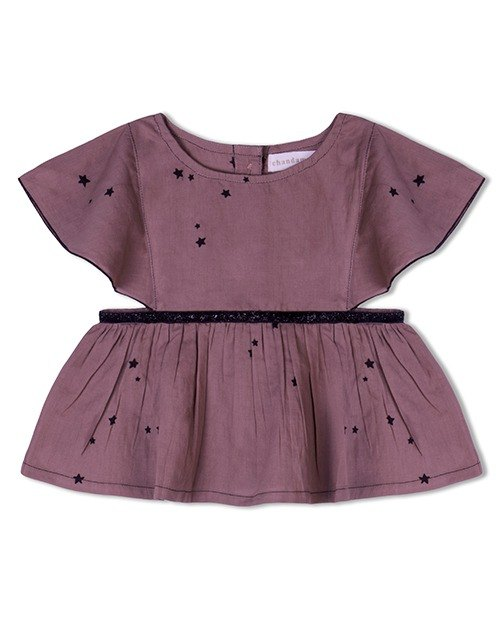 Sita Top in Purple Sky