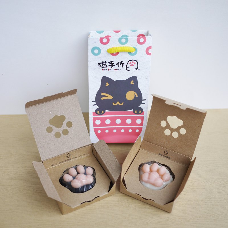 MINI Cat Paw Soap Twins Set