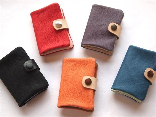 [Classic colors] pig leather soft card case [MTO]